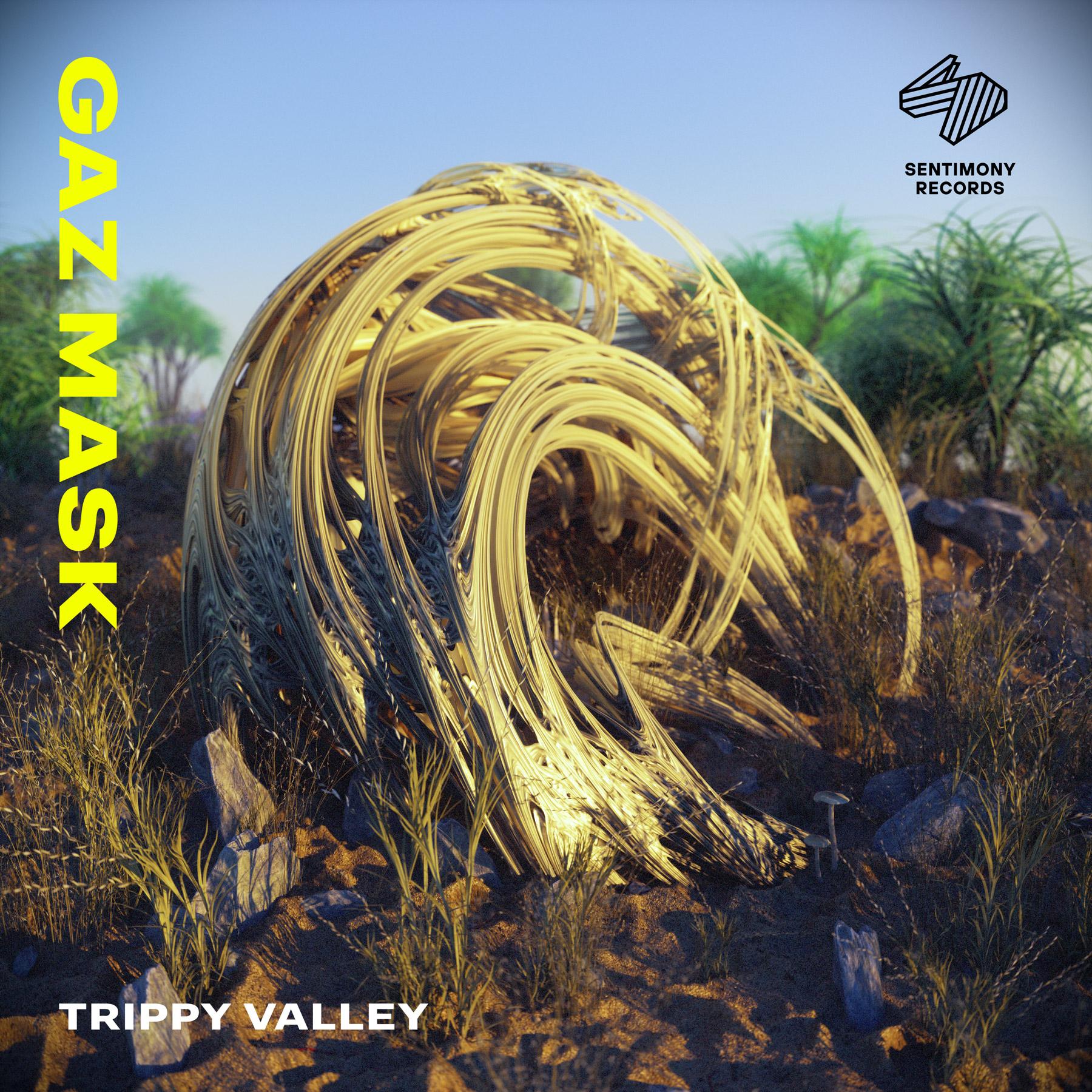 Gaz Mask «Trippy Valley» EP Thumbnail